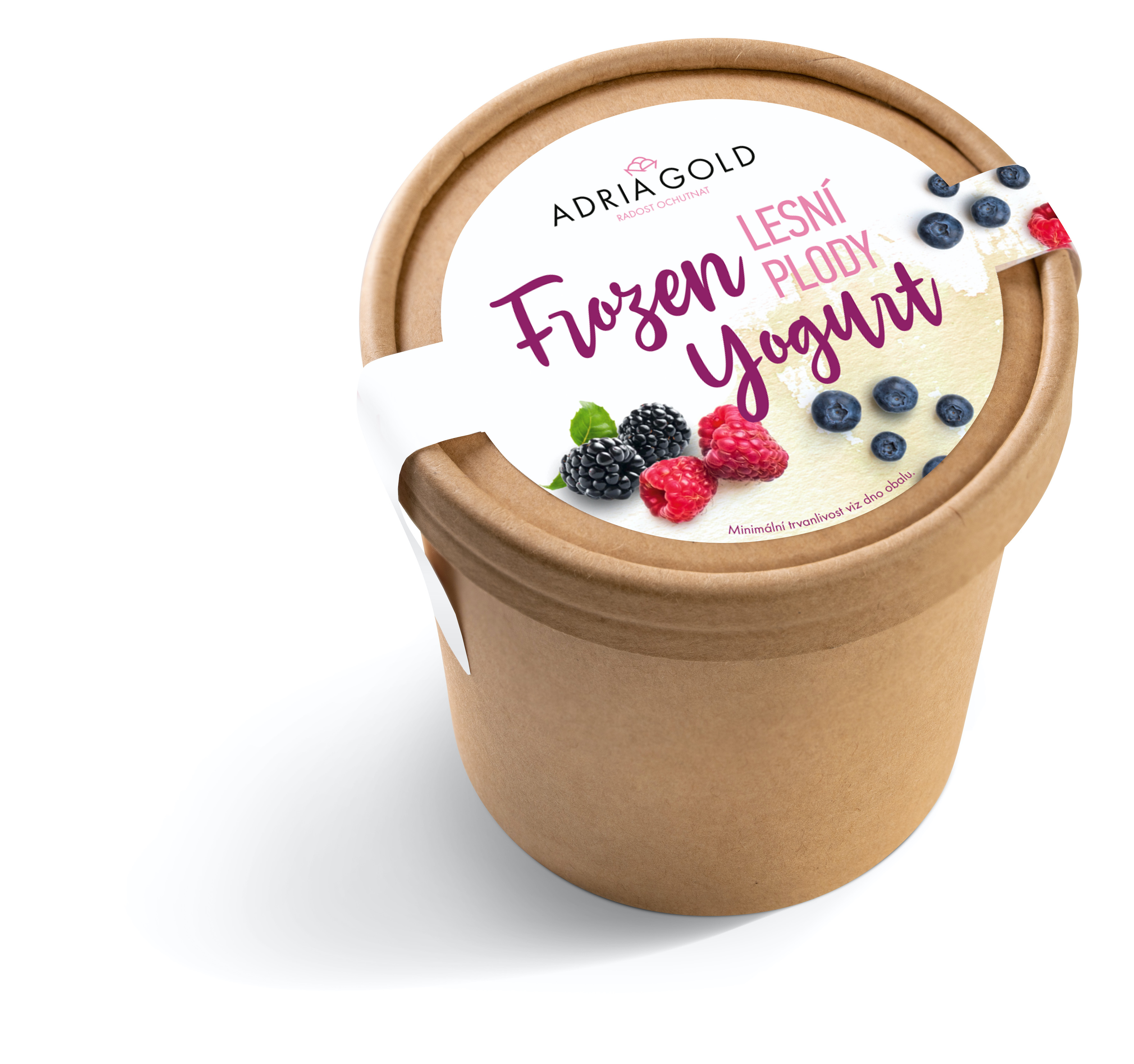 Frozen Yoghurt & Forest fruits